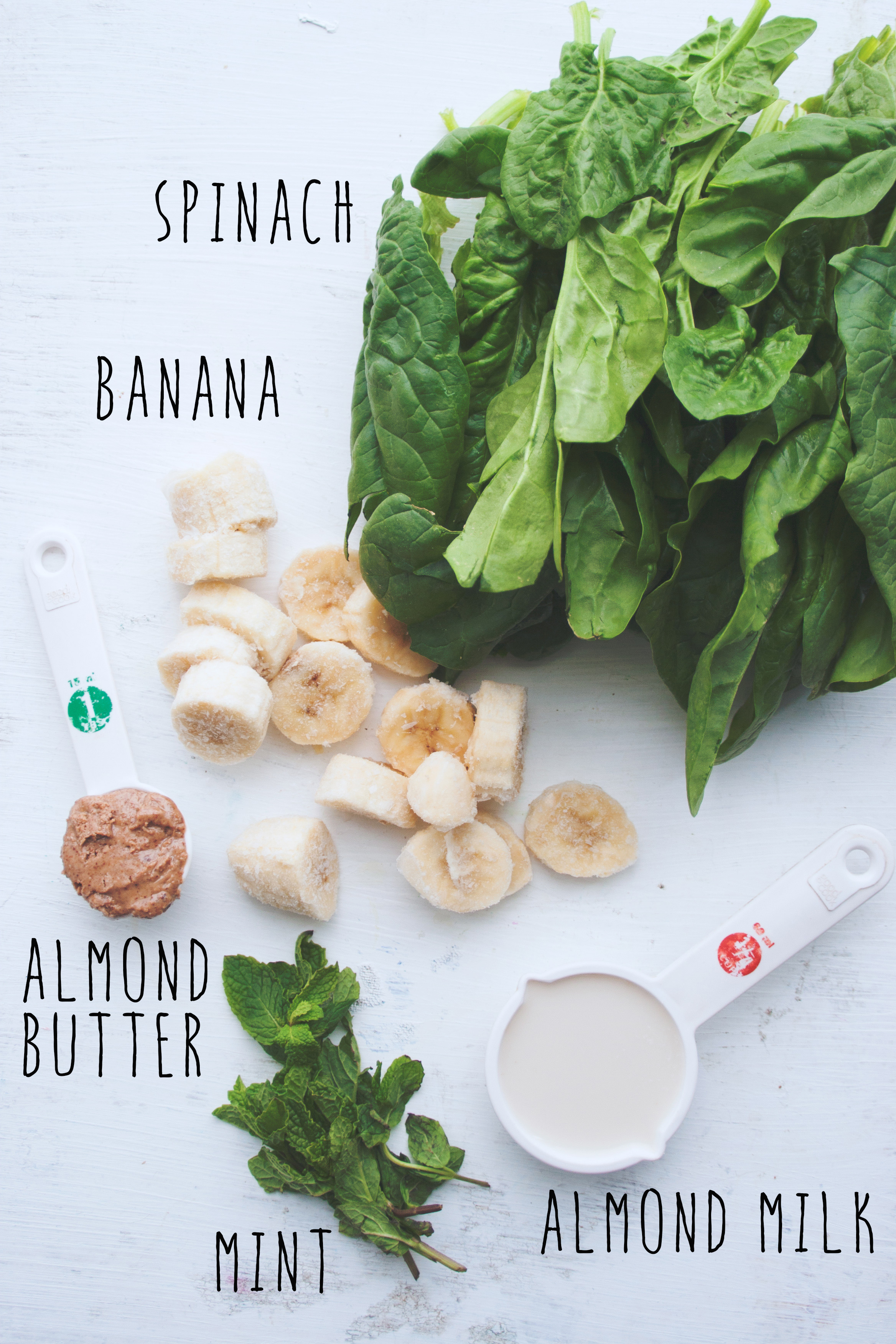 Green Detox Smoothie Bowl Ingredients
