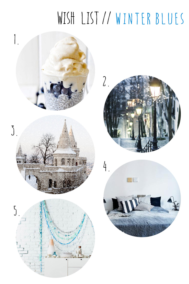 Wish List Winter Blues