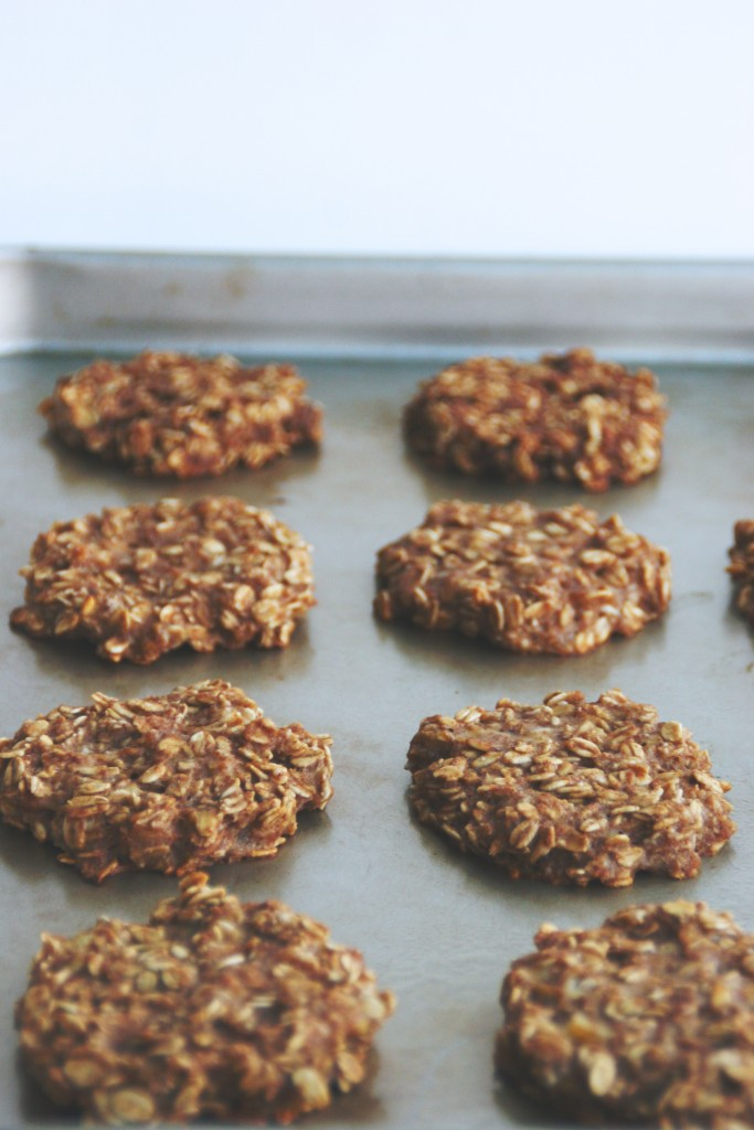gluten-free & vegan banana bread breakfast cookies