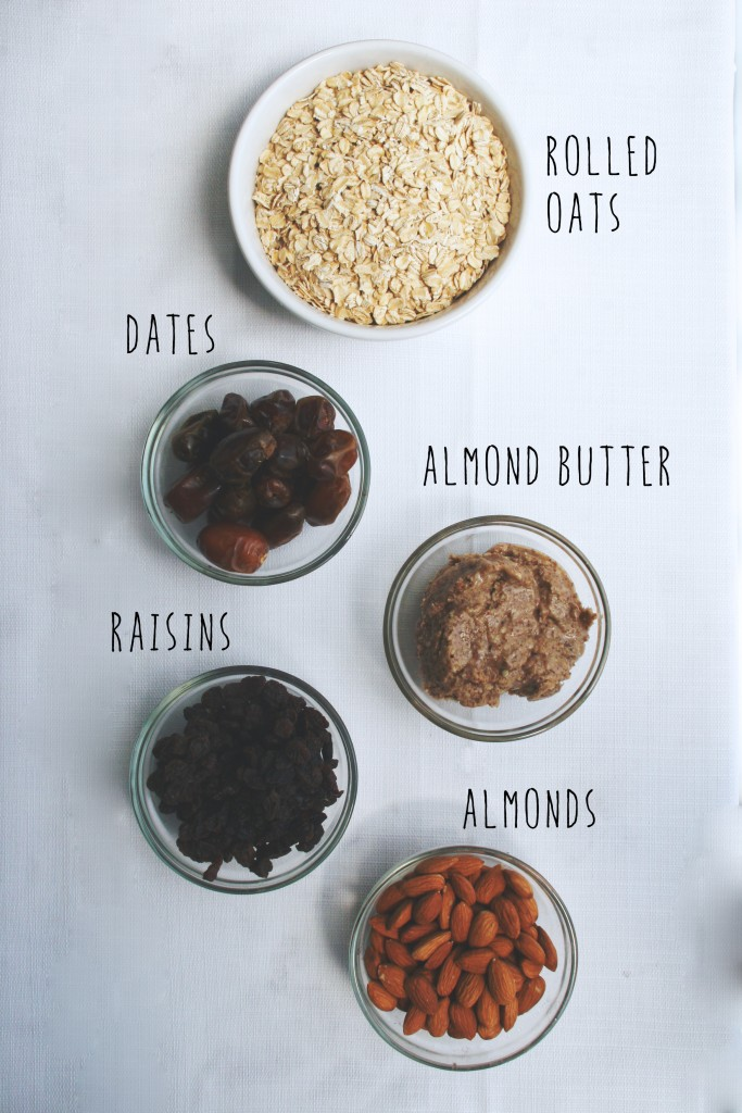 raw oatmeal raising cookie bars with coconut maple frosting // raw, vegan, gluten-free, refined sugar-free