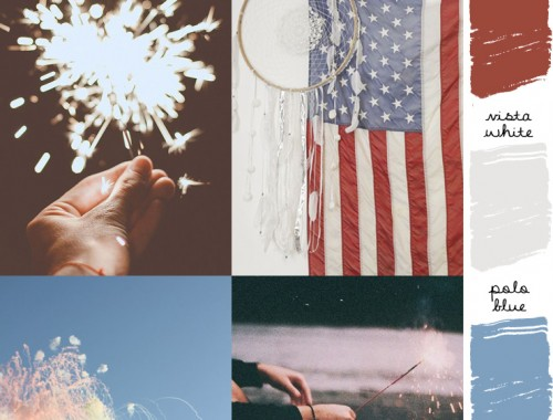 state of mind sunday // red, white & blue