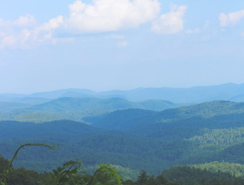 blue ridge mountains, georgia