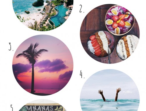 wish list wednesday // bali