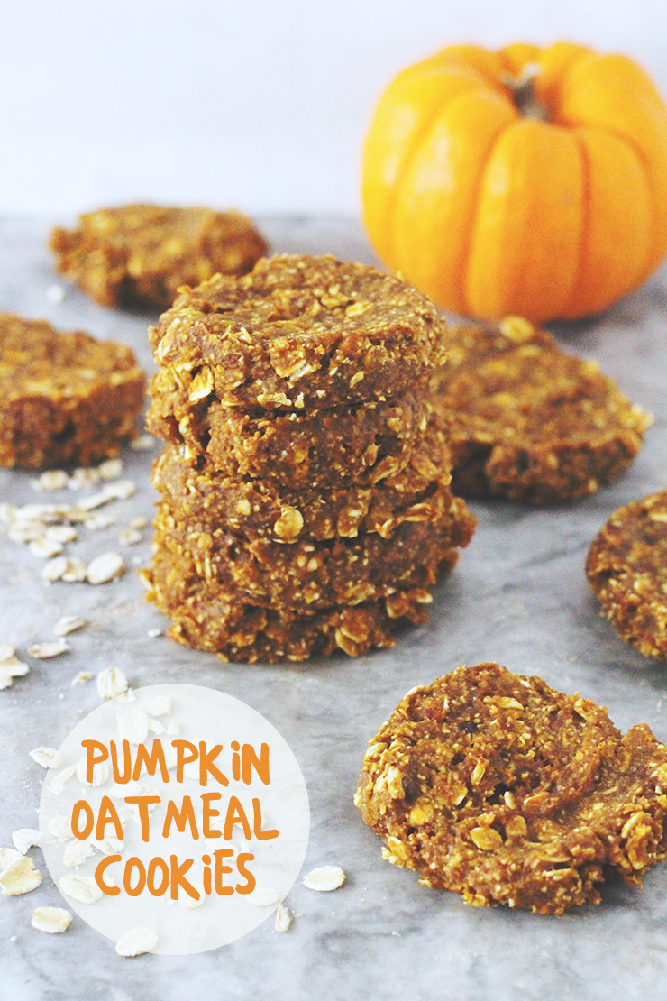 Spooky Saturday // Pumpkin Oatmeal Cookies | A Sunshine ...