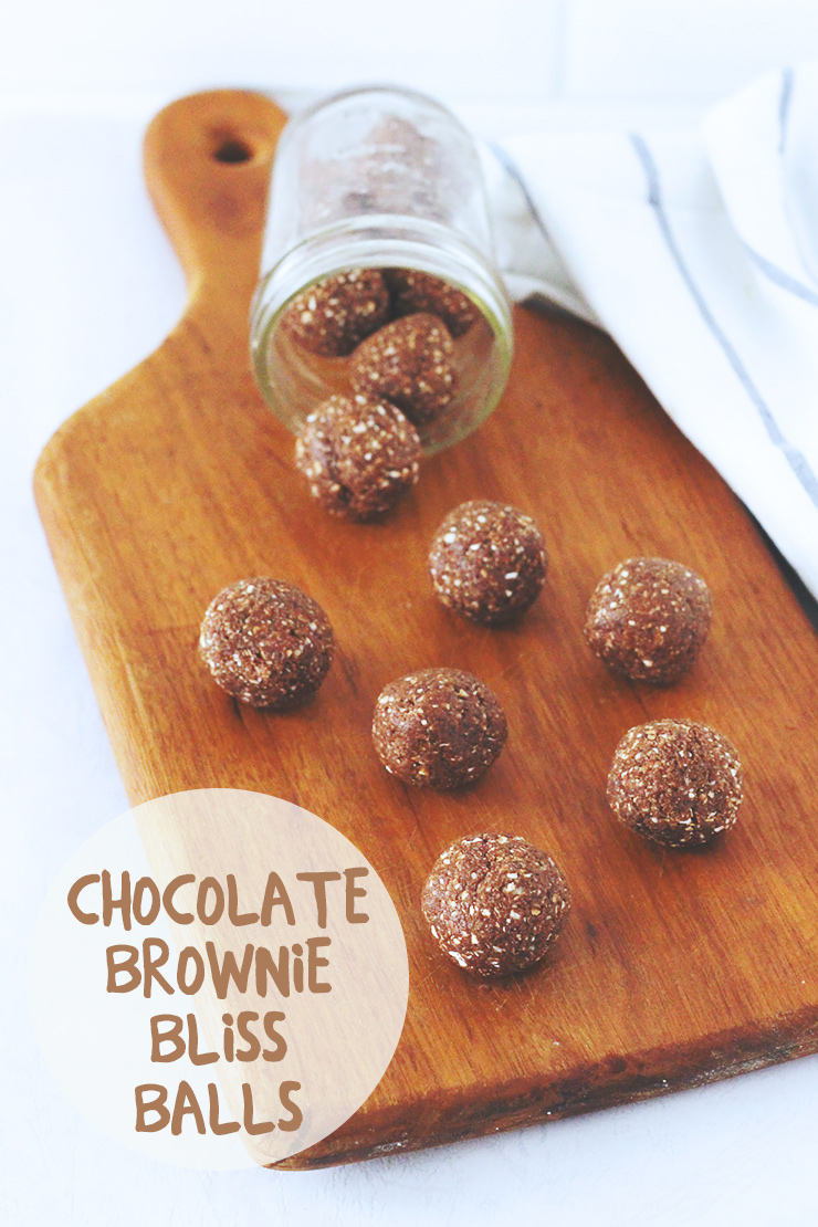 Tasty Tuesday // Chocolate Brownie Bliss Balls | A Sunshine Mission