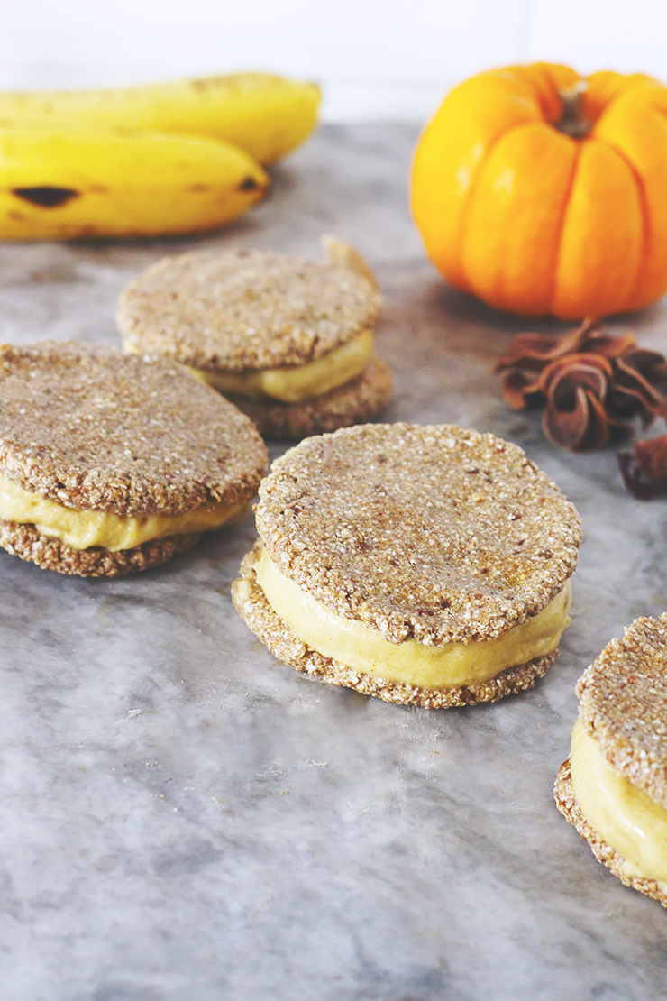 Tasty Tuesday // Pumpkin Pie Nice Cream Sandwiches | A ...