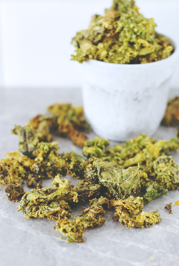 Tasty Tuesday // Cheesy Vegan Kale Chips | A Sunshine Mission