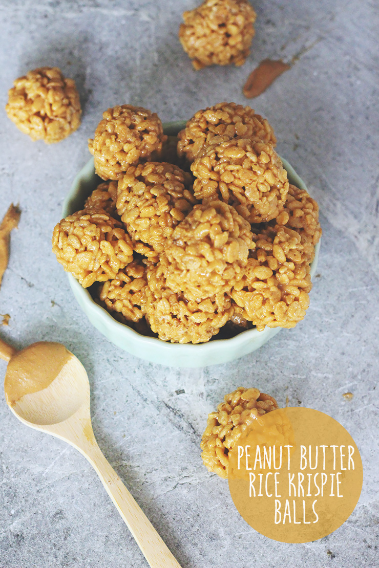 Festive Friday // Peanut Butter Rice Krispie Treat Balls | A Sunshine ...