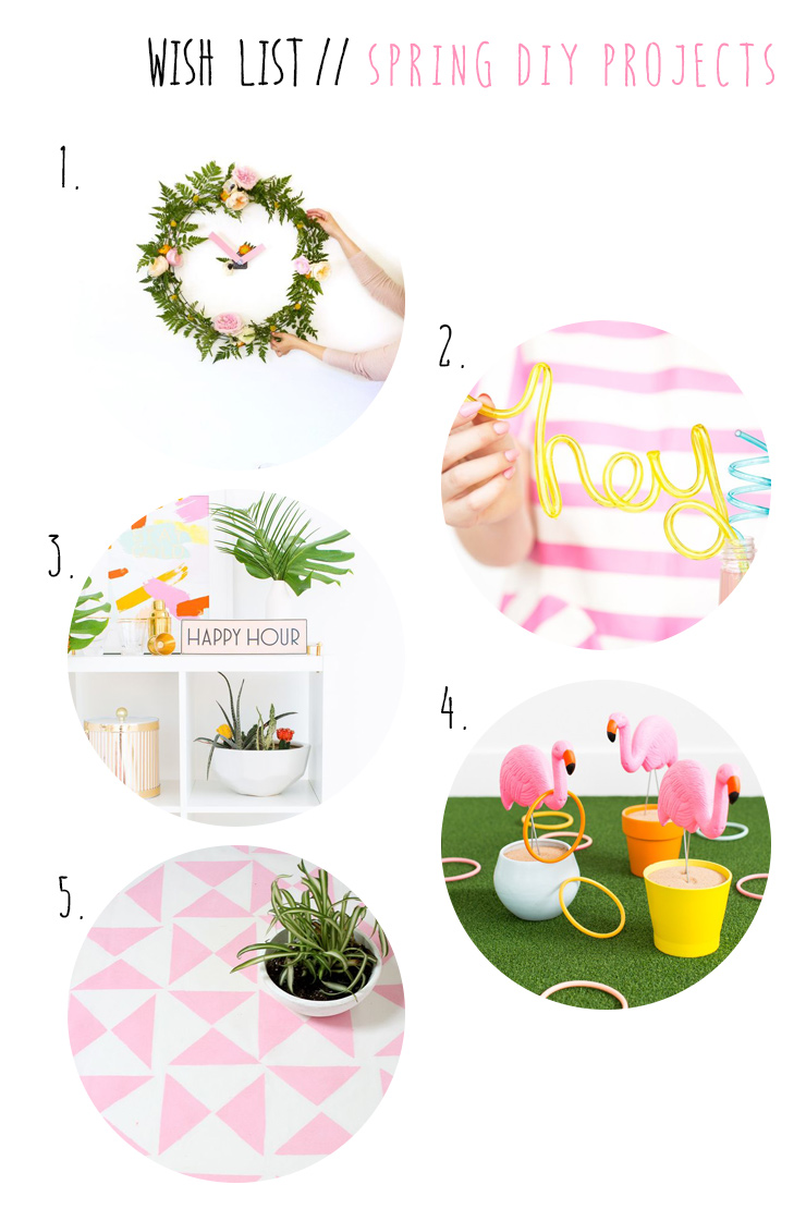 spring DIY projects #DIY
