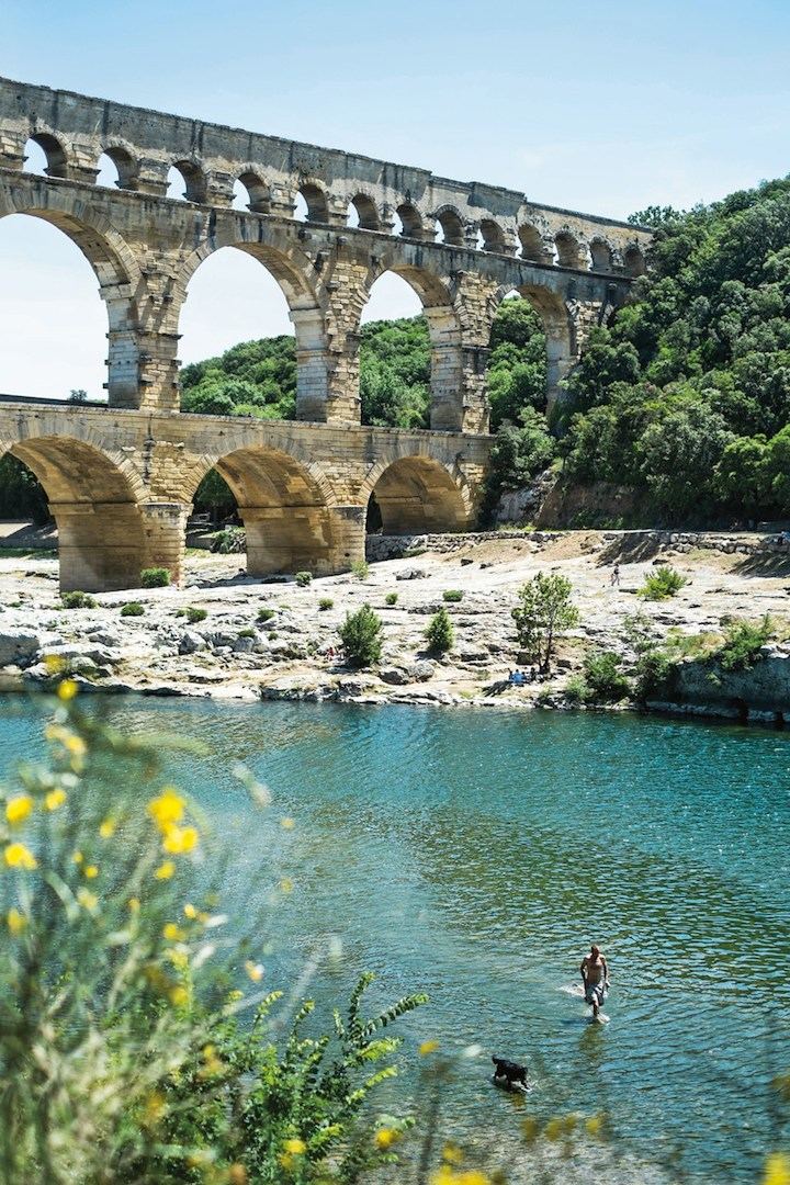 Pont-du-Gard-in-uzes-by-james-bedford