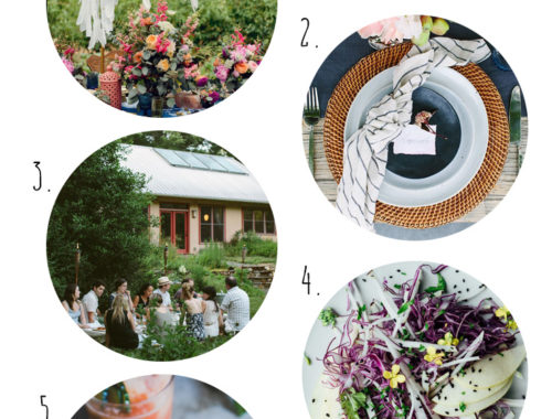 summer solstice dinner party