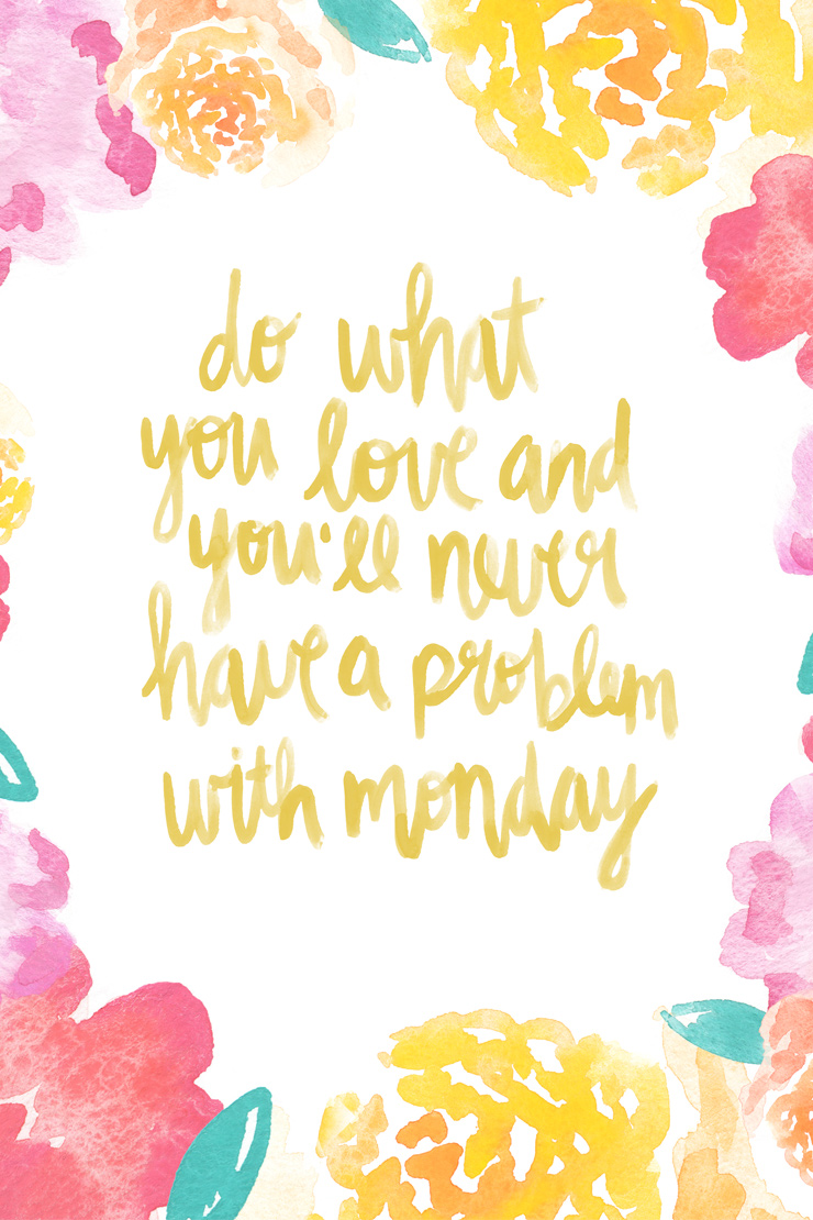 do-what-you-love-art-print