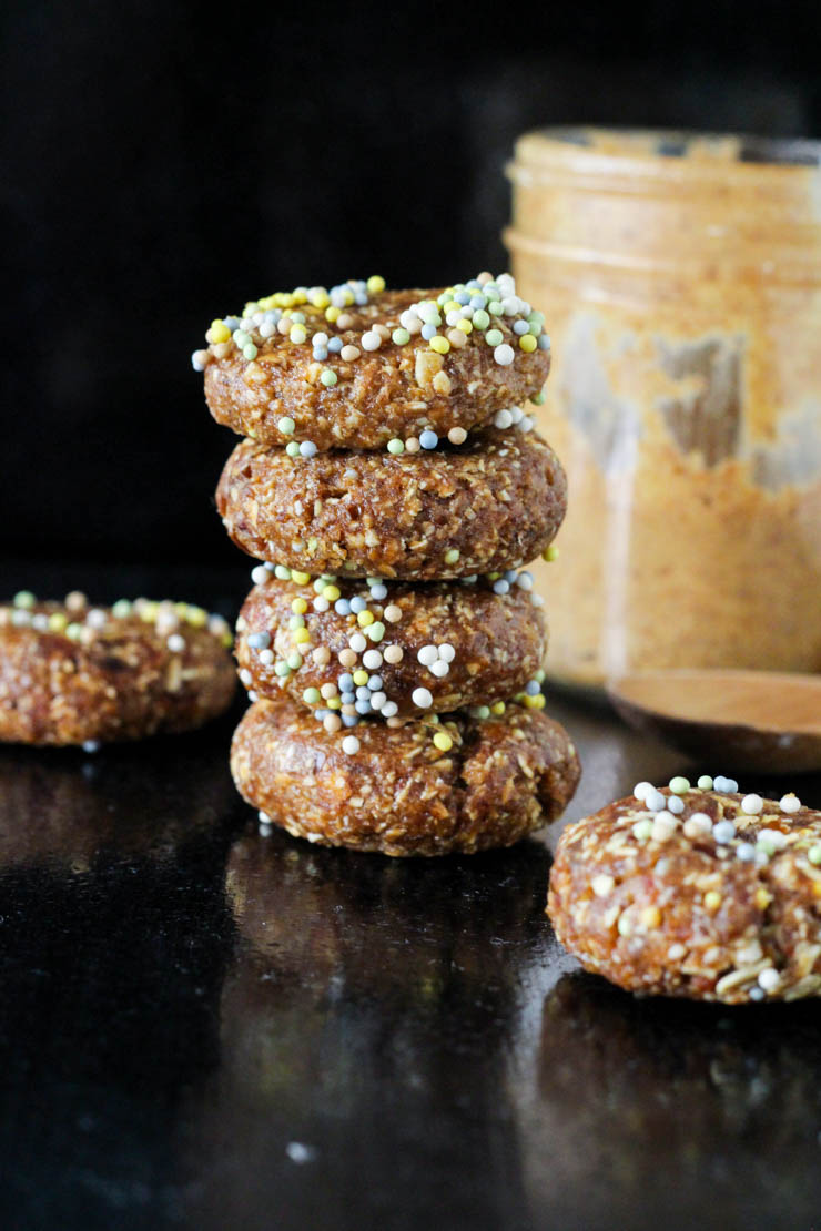 raw vegan donut cereal #vegan #glutenfree
